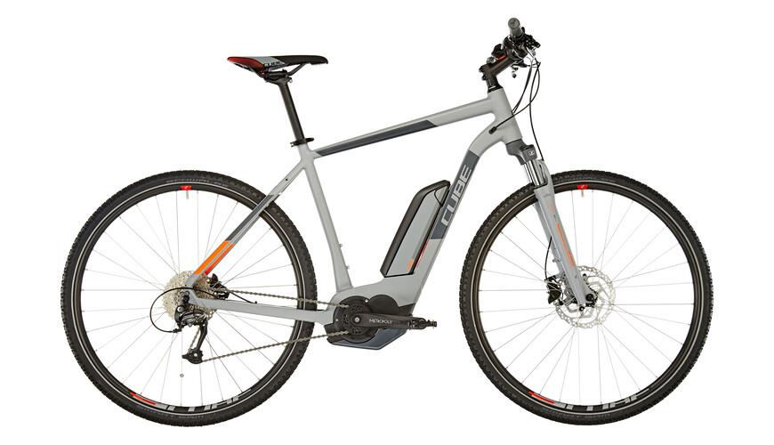Cube Cross Hybrid One 500 grey'n'orange